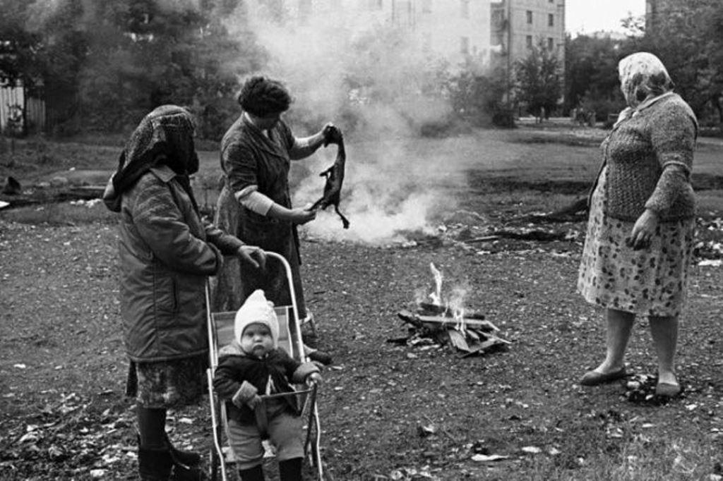Обпалювання курячої тушки