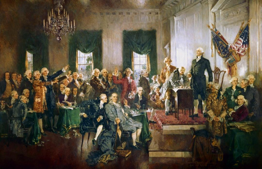 Конституційний конвент у Філадельфії: підписання Конституції США
