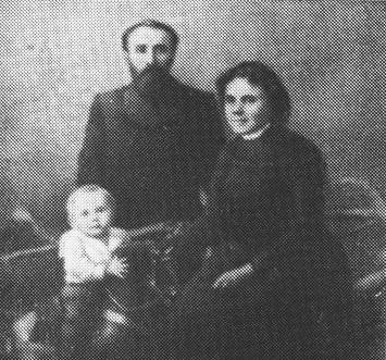 Борис Павлович з батьками, 1902 р.