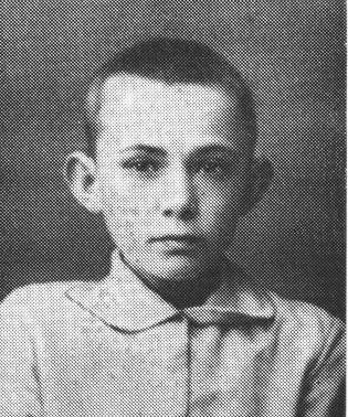 імназист  Борис Грабовський, 1916 р.