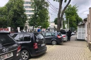 Посольство РФ в Кишиневе эвакуировали из-за сообщения о бомбе