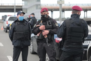 キーウ市の橋爆破を予告した男性 警察が拘束