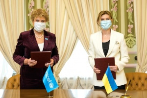 Zelenska, UNICEF sign memorandum on protection of children's rights
