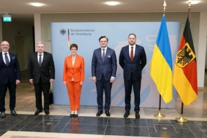Ukrainian delegation starts visit to Berlin with talks at Defence Ministry