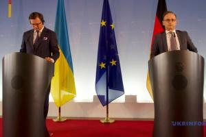 【宇独協議】ドイツはEU理事会でウクライナを支持していく=マース独外相