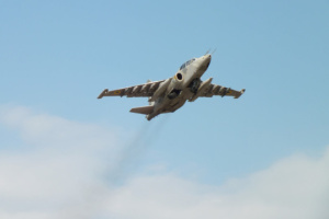 Ukrainian army gets upgraded Su-25 attack aircraft