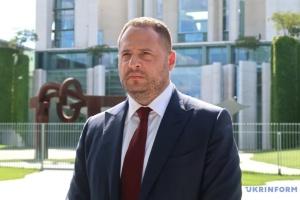 Єрмак: Фокін має піти з ТКГ у Мінську