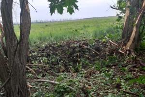 Окупанти обстріляли українських захисників із житлових кварталів