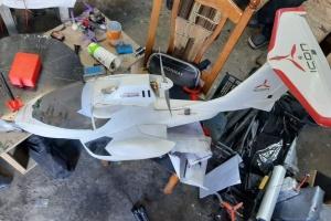 На Львівщині знайшли авіапарк безпілотників, якими могли переправляти контрабанду