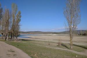 В окупованому Криму обміліли водосховища і може висохнути річка