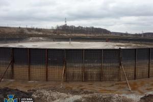 СБУ разоблачила нарушения Укргазвидобуванням эконорм при утилизации отходов