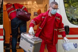 Ukraine confirms 588 new coronavirus cases, bringing total to 25,411