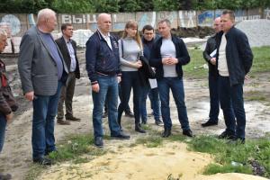 У Селидовому реконструюють стадіон «Шахтар»