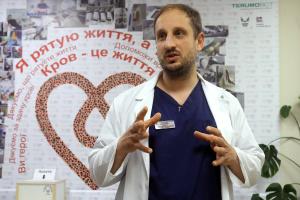 Олександр Лисиця, дитячий онкогематолог