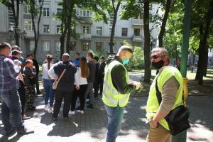 У Харкові пікетують поліцію через затримання активістів Poton