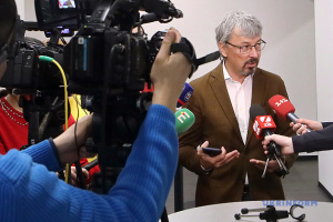 Ткаченко: Мы солидарны с белорусами в их стремлении к свободе