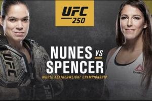 Нуньєс – Спенсер: головний бій UFC 250