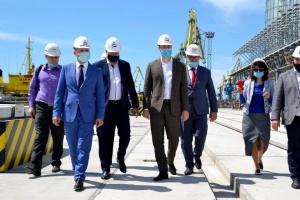 Криклий отмечает рост перевалки в Бердянском и Мариупольском портах