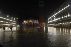 Чверть Венеції затопило, вода залила площу Сан-Марко