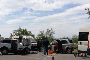 На Миколаївщині зіткнулися два легковика, є загиблий та постраждалі