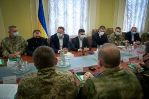 Зеленский принял участие в первом заседании Консультативного совета по делам ветеранов