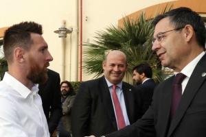 «Барселона» подгоняет Месси с новым контрактом