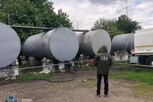 СБУ блокувала виробництво контрафактного пального на Буковині