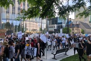 Трюдо долучився до протесту проти поліційного расизму в Оттаві