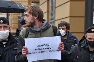 У Москві відбулися затримання учасників одиночних пікетів