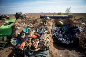 Окупанти обстріляли зі 120-мм мінометів підступи до Пісків та Південного