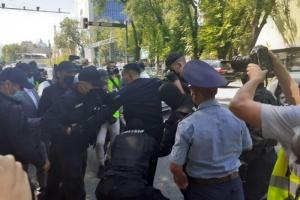 В Казахстане начались аресты на митингах оппозиции