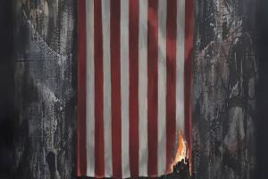 Бенксі присвятив нову роботу протестам у США