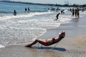 В Одессе не рекомендуют купаться на всех пляжах – мэрия