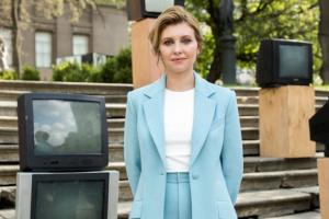 Corona-Infektion: Präsidentengattin Olena Selenska befindet sich auf dem Weg der Besserung, nimmt aber Antibiotika weiter ein