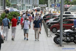 8月1日時点 ウクライナ国内新型コロナ感染新規確認1172件