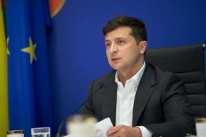 Präsident Selenskyj reist in Oblast Odesa