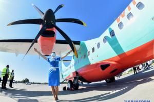 Новый борт компании Windrose для непродолжительных перелетов впервые отправился в Одессу