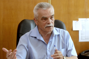 Petro Lakyda, director of the Institute of Forestry and Landscape-Park Management