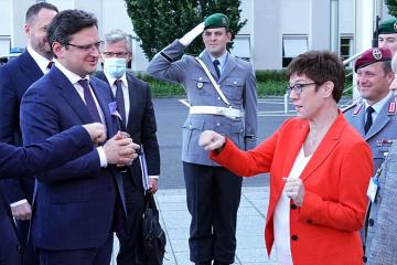 Delegacja ukraińska rozpoczęła wizytę w Berlinie rozmowami w Ministerstwie Obrony