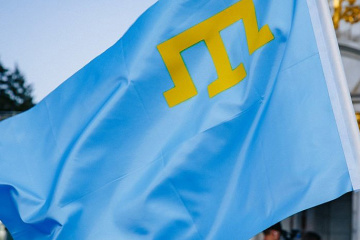 President's Office: Crimean Tatar flag becomes symbol of unbrokenness for whole world