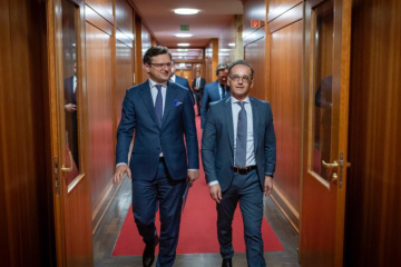 Kuleba, Maas discuss prospects for further consultations of Normandy Four ministers