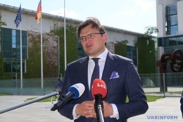 """Kuleba skomentował próby Ukrainy zintensyfikowania """"formatu normandzkiego"""""""