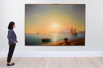Venden una pintura de Aivazovsky por casi $2,3 millones