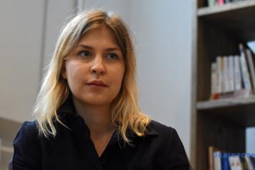 Olha Stefanischyna wird Vizeregierungschefin für europäische Integration
