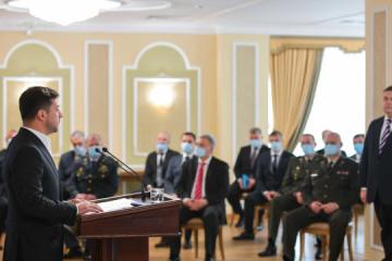 Präsident Selenskyj fordert Reform von Auslandsgeheimdienst