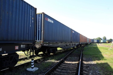First container train from China arrives in Ukraine