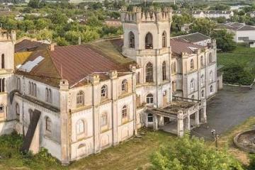 """Житомирщина: туристична мапа """"Подорожуємо Україною"""""""