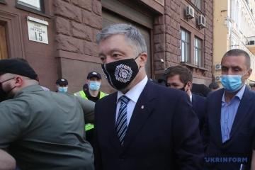 Oficina Estatal de Investigaciones declara sospechoso a Poroshenko