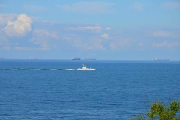У Чорному морі тривають випробування нового артилерійського катера