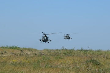 Helicopters, artillery, combat firing: Large-scale exercises held in Donetsk region